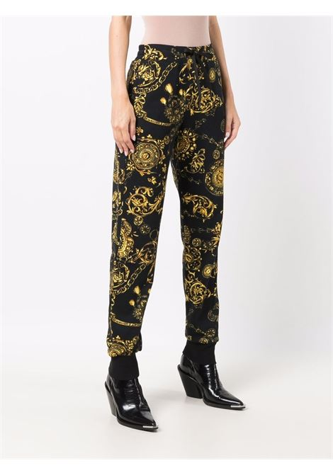 TRACK PANT VERSACE JEANS COUTURE | Pantalone | 71HAA310FS002G89
