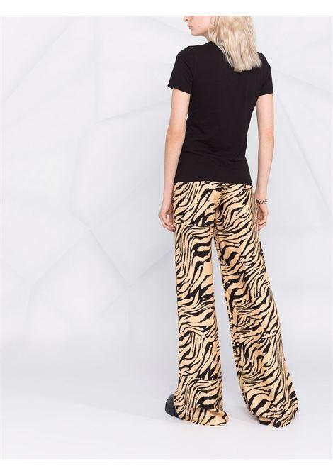 T-SHIRT DOPPIO LOGO VERSACE JEANS COUTURE | T-shirt | 71HAHT02CJ00TG89
