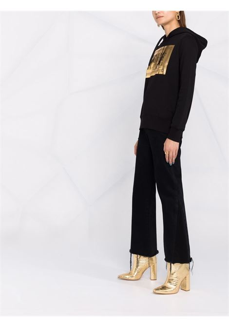 HOODIE STAMPA GOLD VERSACE JEANS COUTURE | Felpa | 71HAIT15CF00TG89