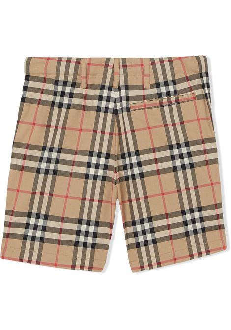 short check BURBERRY KIDS | Shorts | 8014135A7028#