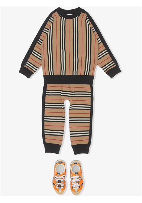 felpa check BURBERRY KIDS | Felpa | 8022670A7026#