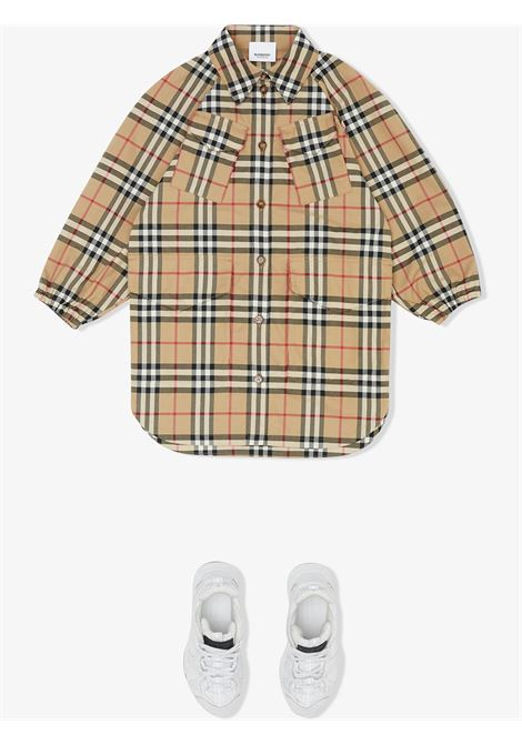 CHEMISIER CHECK BURBERRY KIDS | Abito | 8029774A7028#