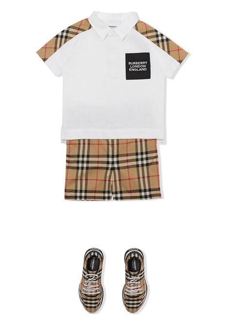 polo bianca BURBERRY KIDS | Polo | 8036422A1464
