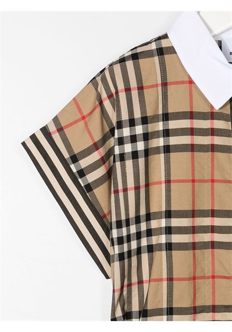 CHEMISIER CHECK BURBERRY KIDS | Abito | 8036479A7028#