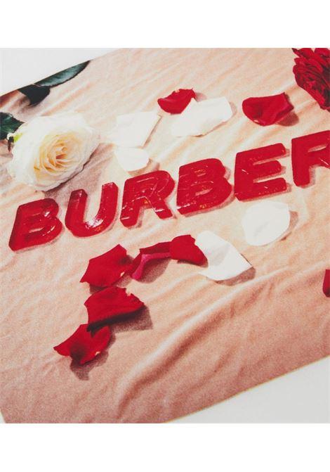 maglia bianca BURBERRY KIDS | T-shirt | 8036910A1464#