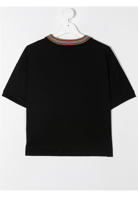 t-shirt nera BURBERRY KIDS | T-shirt | 8036920A1189##