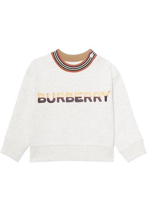 felpa beige BURBERRY KIDS | Felpa | 8036934A4807