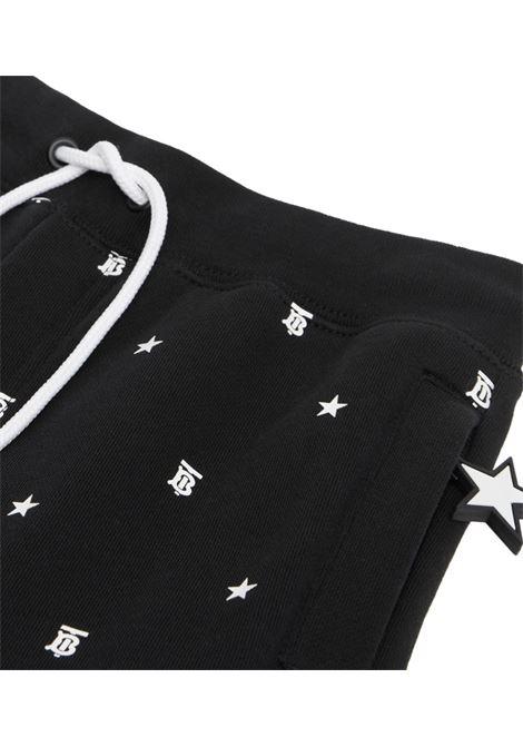 pantalone nero BURBERRY KIDS | Pantalone | 8036946A1879#