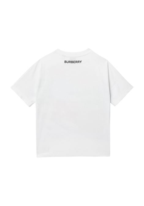 t-shirt grigia BURBERRY KIDS | T-shirt | 8037611A4151#
