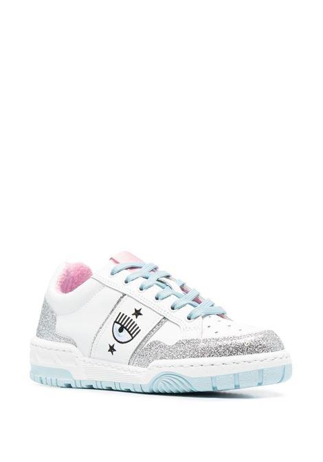 SNEAKERS COLOR-BLOCK CHIARA FERRAGNI | Sneaker | CF2800004AWHITE/GLITTER