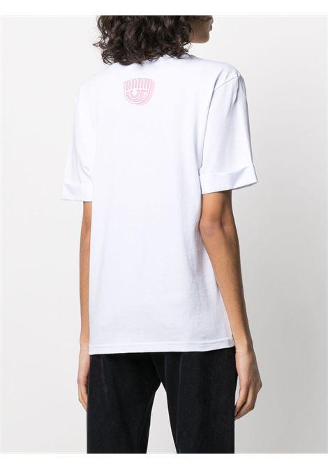 T-SHIRT STAMPA CHIARA FERRAGNI | T-shirt | CFT123WHITE