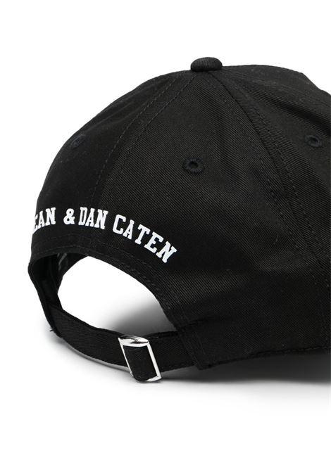 cappello nero DSQUARED KIDS | Cappello | D2F133UDQ0134D00YTDQ900