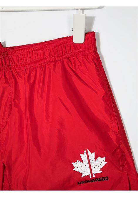 costume rosso DSQUARED KIDS | Costume | D2M43MDQ0052D00QKDQ405##