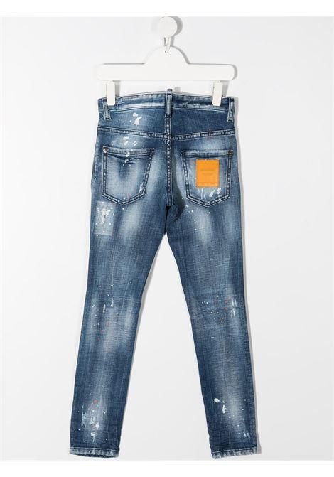 JEANS CHIARO DSQUARED KIDS | Jeans | D2P118LMDQ03LDD005EDQ01#
