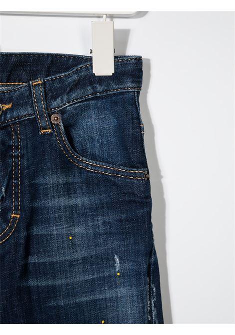 jeans scuro DSQUARED KIDS | Jeans | D2P118LMDQ042LD006GDQ01#