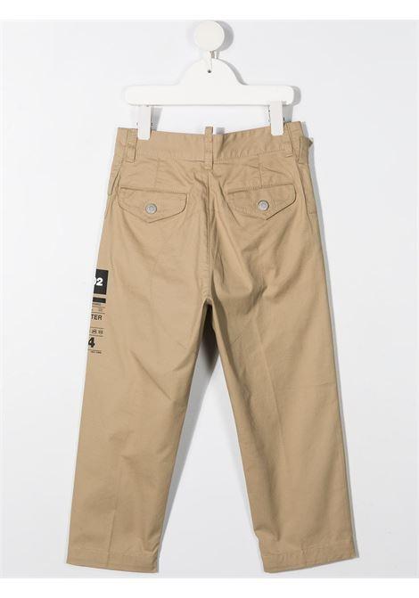 pantalone beige DSQUARED KIDS | Pantalone | D2P317MDQ0076D005SDQ710#