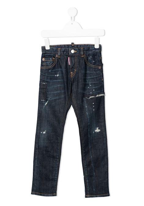 jeans scuro DSQUARED KIDS | Jeans | D2P31LVMDQ0236D005KDQ01#
