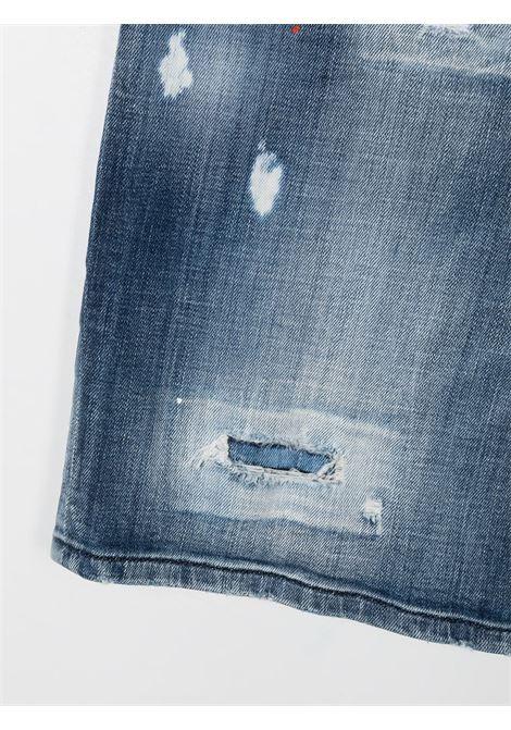 short in jeans DSQUARED KIDS | Shorts | D2P351MDQ0237D005EDQ01##
