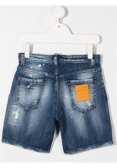 short in jeans DSQUARED KIDS | Shorts | D2P351MDQ0237D005EDQ01#