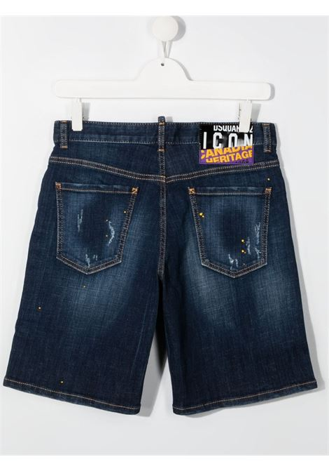 short in jeans DSQUARED KIDS | Pantalone | D2P356MDQ0261D006GDQ01##