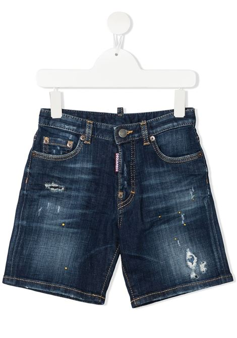 short in jeans DSQUARED KIDS | Pantalone | D2P356MDQ0261D006GDQ01#