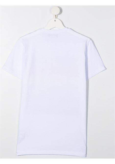 t-shirt bianca DSQUARED KIDS | Maglia | D2T649UDQ0189D004GDQ100##
