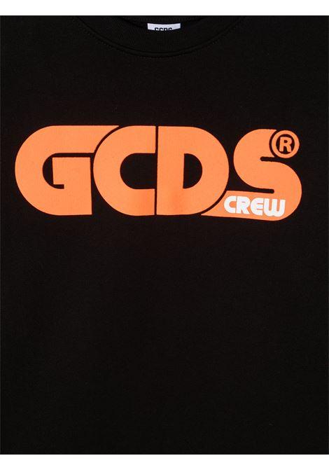 felpa nera GCDS KIDS | Felpa | 027597110##