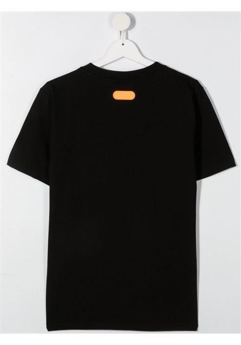 t-shirt nera GCDS KIDS | T-shirt | 027599110##