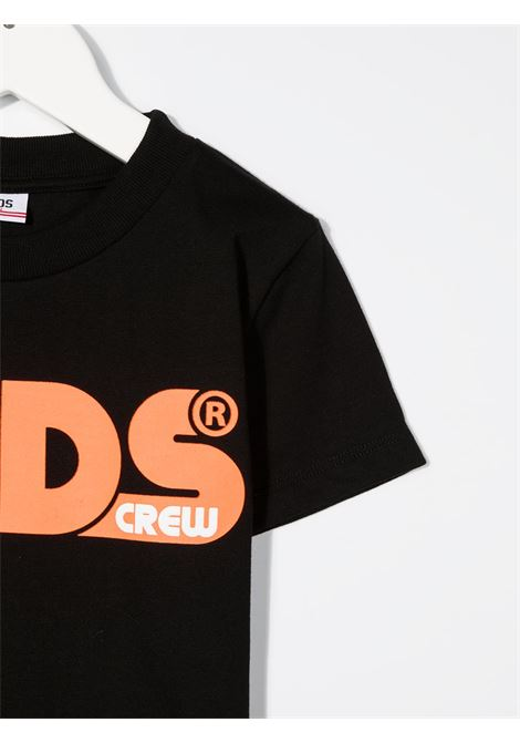 t-shirt nera GCDS KIDS | T-shirt | 027599110#