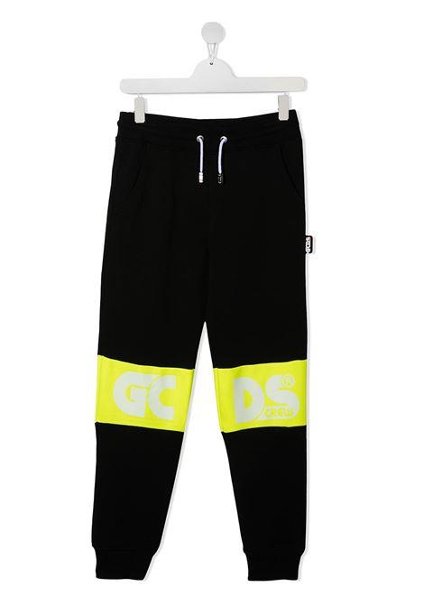 pantalone nero GCDS KIDS | Pantalone | 027609110##