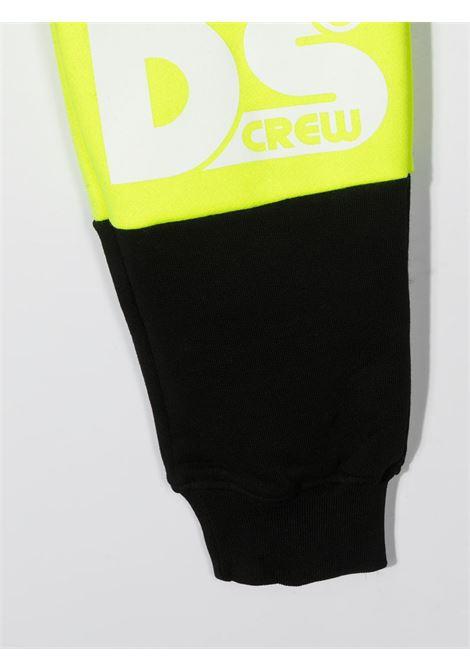 pantalone nero GCDS KIDS | Pantalone | 027609110#