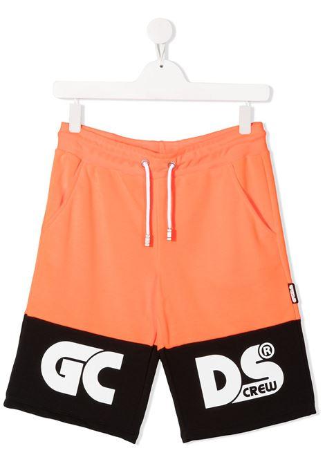 short arancio GCDS KIDS | Shorts | 027610FL176##