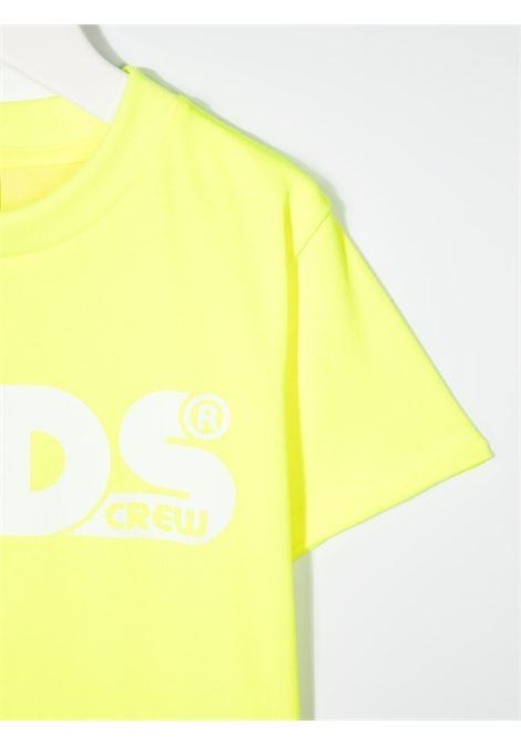 maglia gialla GCDS KIDS   T-shirt   027614FL023#