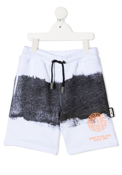 short bianco GCDS KIDS | Shorts | 027622110#