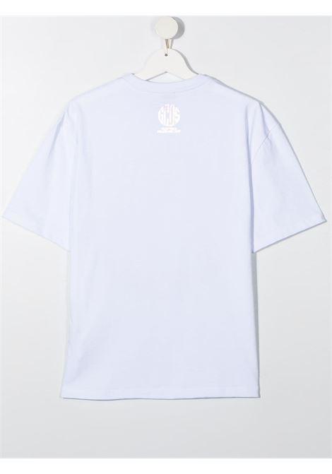 t-shirt bianca GCDS KIDS | T-shirt | 027676001##