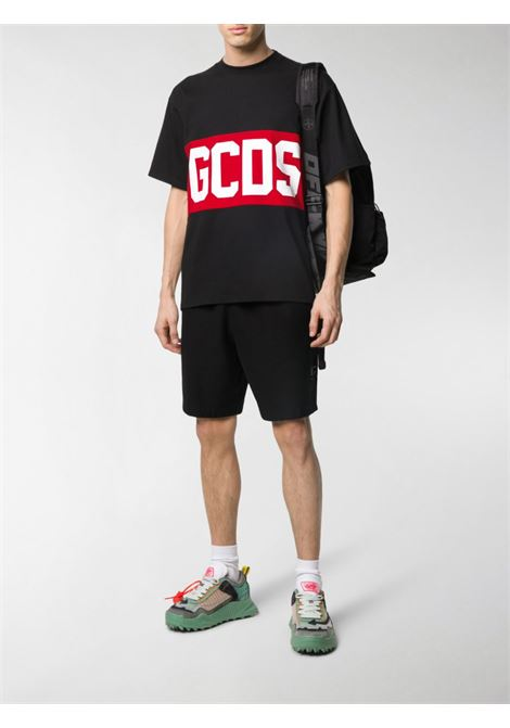 T-SHIRT LOGO BLOCK GCDS | T-shirt | CC94M021014BLACK