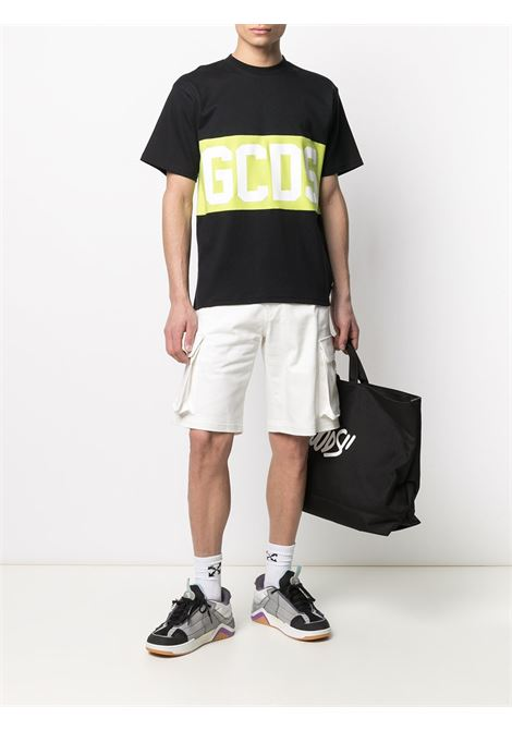 T-SHIRT LOGO BLOCK GCDS | T-shirt | CC94M021014MIX