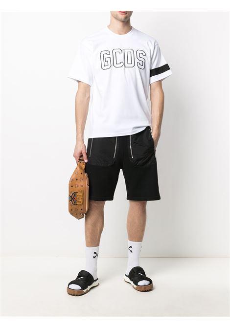 T-SHIRT LOGO GCDS | T-shirt | CC94M021051WHITE