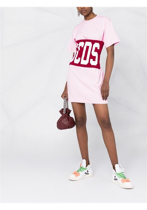 LOGO DRESS GCDS | T-shirt | CC94W020602CHERRY