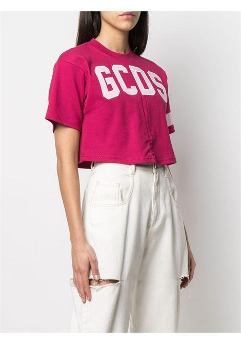 CROP LOGO GCDS | T-shirt | CC94W020603CHERRY