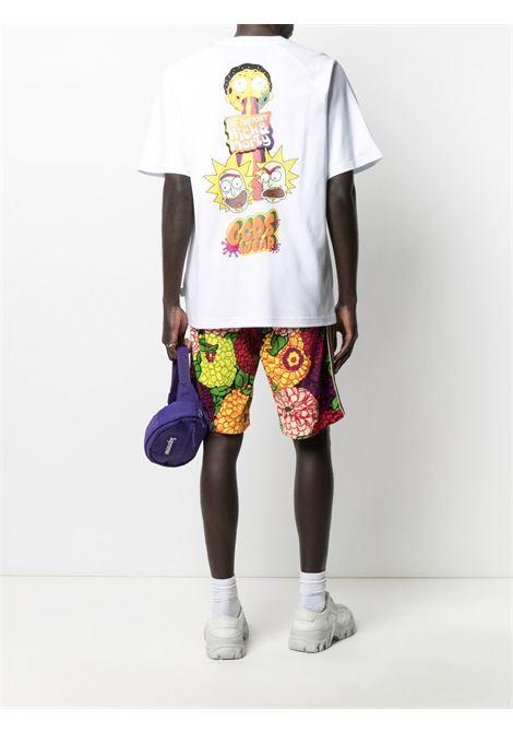 T-SHIRT LOGO RICK AND MORTY GCDS | T-shirt | RM21M020062WHITE