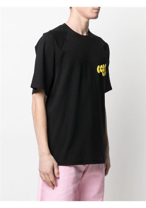 T-SHIRT LOGO RICK AND MORTY GCDS | T-shirt | RM21M020064BLACK