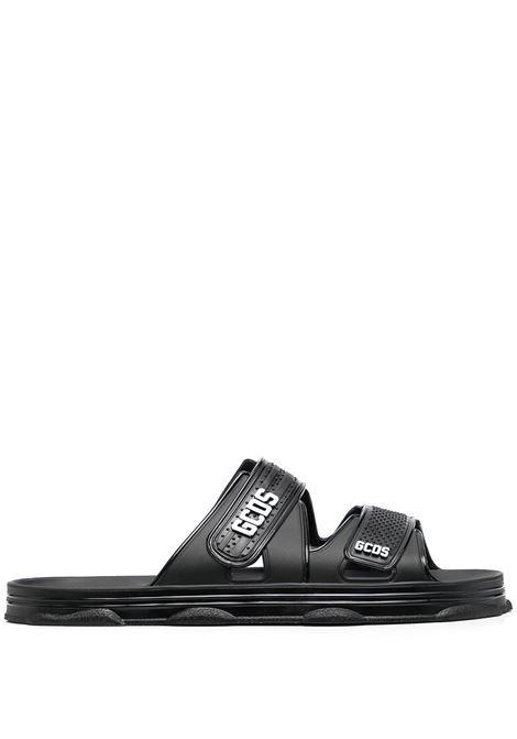 SANDALO NERO GCDS | Sandalo | SS21M010099BLACK