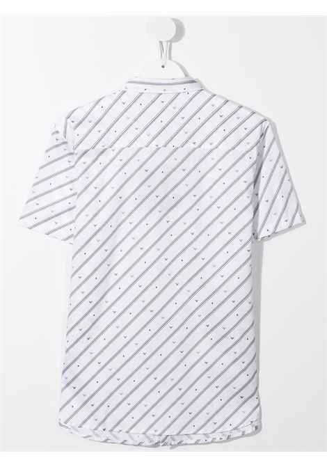 camicia a righe GIORGIO ARMANI KIDS | Camicia | 3K4CC41NXTZF109##