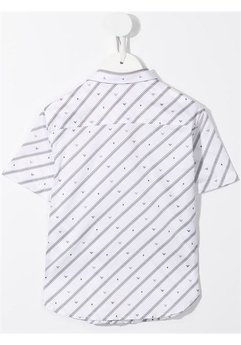 camicia a righe GIORGIO ARMANI KIDS | Camicia | 3K4CC41NXTZF109#