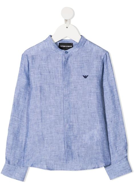 camicia celeste GIORGIO ARMANI KIDS | Camicia | 3K4CJ44N50ZF909#