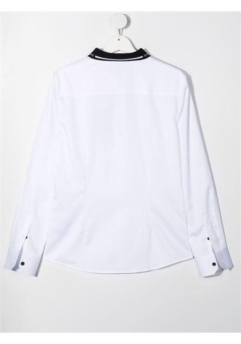 camicia bianca GIORGIO ARMANI KIDS | Camicia | 3K4CP81NXRZ0100##