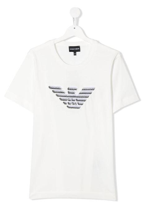 GIORGIO ARMANI KIDS | T-shirt | 3K4TC31JUCZ0101##