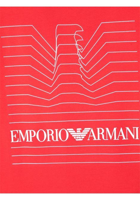 GIORGIO ARMANI KIDS   T-shirt   3K4TJG4J4BZ0356#