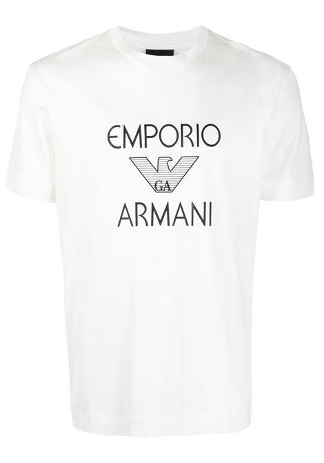 T-SHIRT STAMPA GIORGIO ARMANI | T-shirt | 3K1TAF1JUVZ0101